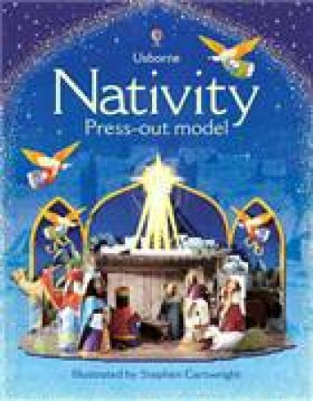 Nativity Press-Out Model by Usborne