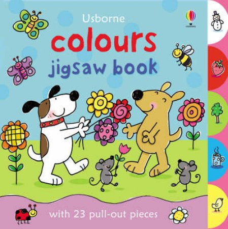 Colours Jigsaw Book by Felicity Brooks