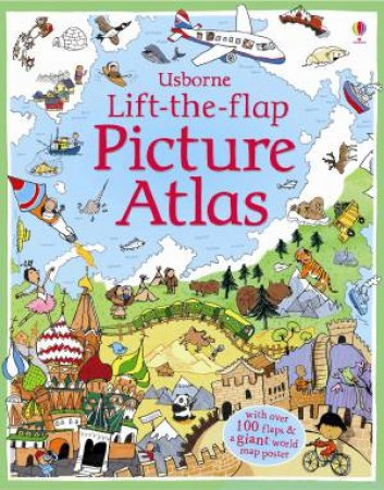 Lift the Flap Atlas by Alex Firth