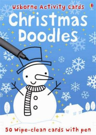 50 Christmas Doodle Cards by Fiona Watt