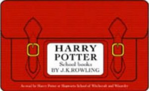 Harry Potter School Books Comic Relief Pack By J K Rowling