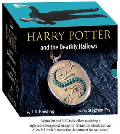 Harry Potter And The Deathly Hallows Adult Jacket Edition CD by J.K. Rowling