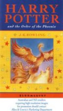 Harry Potter And The Order Of The PhoenixCelebratory Edition