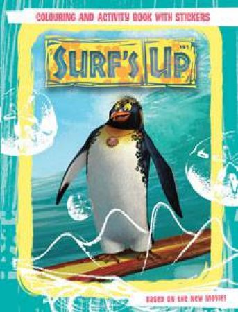 Surf's Up: Colouring and Activity Book with Stickers by Author Provided No