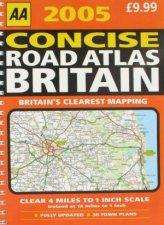 AA 2005 Concise Road Atlas Britain