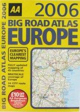AA Big Road Atlas Europe 2006