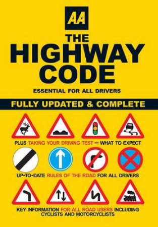 AA The Highway Code by Automobile Association