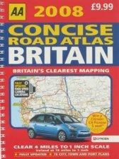 AA Concise Road Atlas Britain 2008