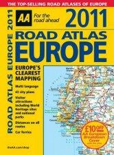 AA Road Atlas Europe 2010