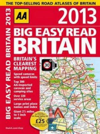 AA Big Easy Read Britain 2013 Spiral