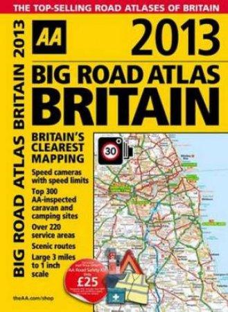 AA Big Road Atlas Britain 2013 Spiral