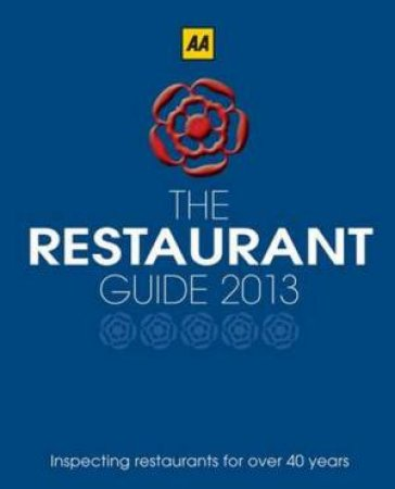 AA Restaurant Guide 2013