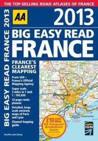 AA Big Easy Read France 2013 (8th ED)
