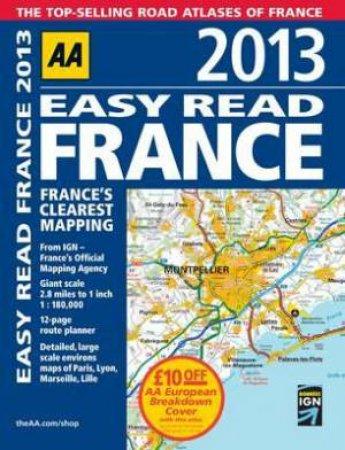 AA Easy Read France 2013 8/e