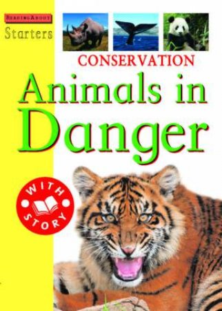 Starters L3: Conservation: Animals In Danger by Jim Pipe