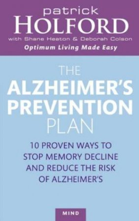 The Alzheimers Prevention Plan