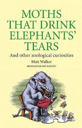 Moths That Drink Elephants' Tears by Matt Walker