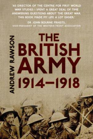 The British Army Handbook 1914-1918