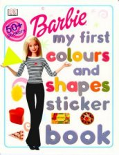 Barbie My First Colours And Shapes Sticker Book