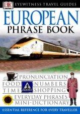 Eyewitness Travel Phrasebook: European  by Various