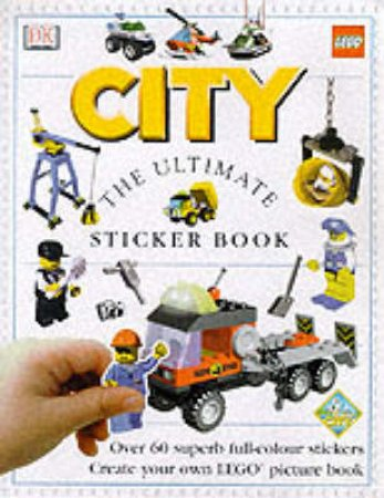 The DK Lego Sticker Fun Book: City by Various
