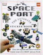 The DK Lego Sticker Fun Book Space Port