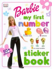 Barbie My First Number Sticker Book