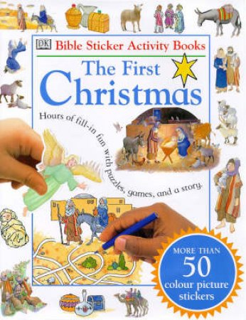 Bible Sticker Books: Christmas Story by Various