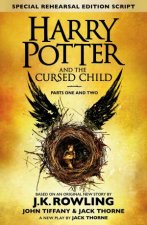Harry Potter and the Cursed Child - Parts I & II (Special Rehearsal Edition) by J.K. Rowling & Jack Thorne & John Tiffany