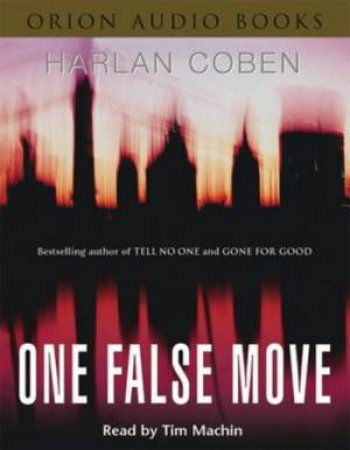 One False Move - Cassette by Harlan Coben