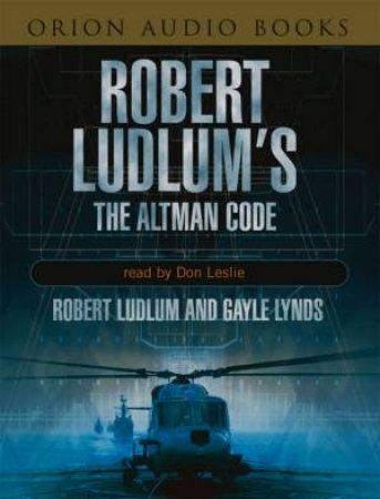 The Altman Code - Cassette by Robert Ludlum & Gayle Lynds