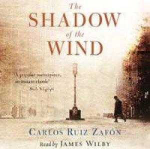 The Shadow Of The Wind - CD by Carlos Ruiz Zafon