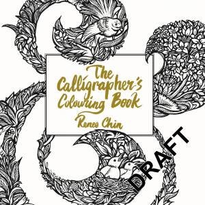The Calligraphers Colouring Book