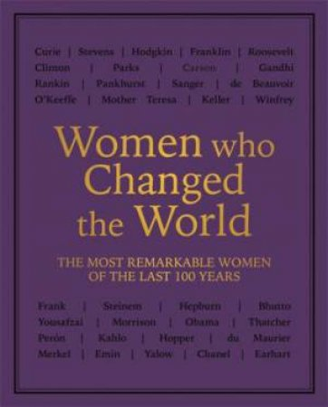 Women Who Changed The World by Various