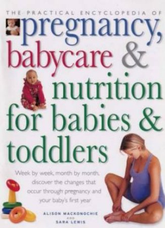 The Practical Encyclopedia Of Pregnancy, Babycare & Nutrition For Babies & Toddlers by Alison Mackomockie