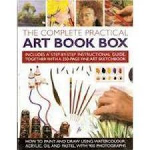 The Complete Practical Art Book Box by Various