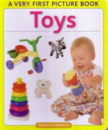 Very First Picture Book: Toys by Various