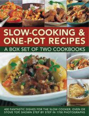 Slow-Cooking & One-Pot Recipes Box Set by Various