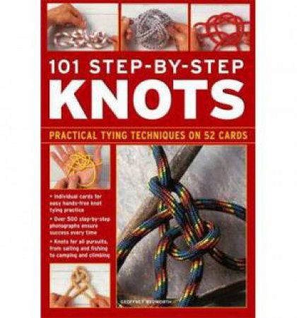101 Step-by-Step Knots Tin by Various