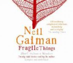 Fragile Things - CD by Neil Gaiman