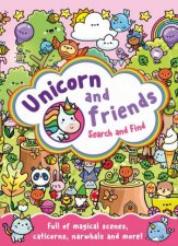 Unicorn And Friends Search And Find