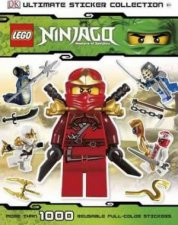 Ultimate Sticker Collection Lego Ninjago