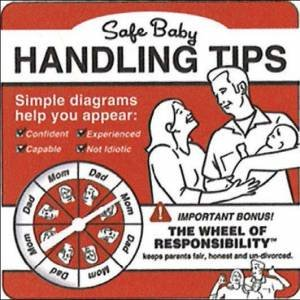 Safe Baby Handling Tips by Kelly Sopp
