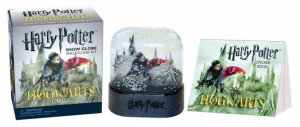 Harry Potter Hogwarts Castle Snow Globe and Sticker Kit