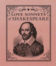 Miniature Classics Love Sonnets Of Shakespeare