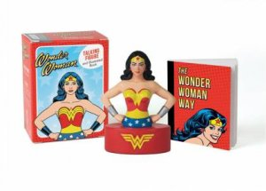 Wonder Woman Talking Figure And Illustrated Book by Press Running