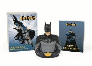 Batman: Talking Bust and Illustrated Book by Matthew Manning
