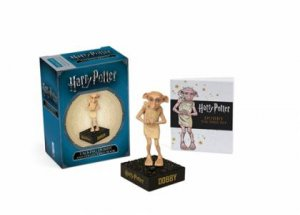 Harry Potter Talking Dobby And Collectible Book by Press Running