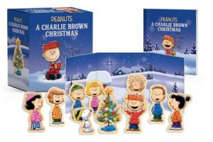 Charlie Brown Christmas Images.A Charlie Brown Christmas Wooden Collectible Set By Charles Schulz 9780762464098 Qbd Books