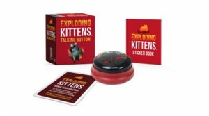 Exploding Kittens: Talking Button by Various - 9780762495542 - QBD Books